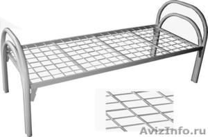 кровати двухъярусные с деревянными спинками, кровати одноярусные металлические - Изображение #4, Объявление #700355