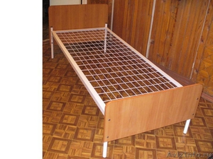 кровати двухъярусные с деревянными спинками, кровати одноярусные металлические - Изображение #5, Объявление #700355