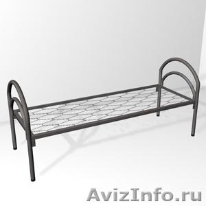 кровати двухъярусные, кровати одноярусные для армий, кровати металлические оптом - Изображение #4, Объявление #696176