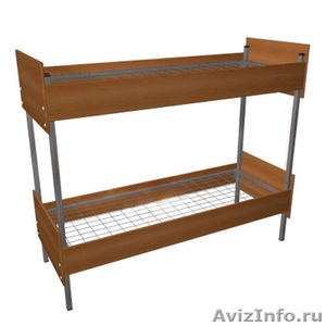 Кровати металлические двухъярусные для рабочих, кровати металлические опт. - Изображение #2, Объявление #1478881