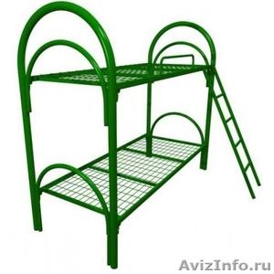 Кровати металлические двухъярусные для рабочих, кровати металлические опт. - Изображение #5, Объявление #1478881
