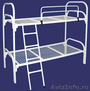 Кровати металлические двухъярусные для рабочих, кровати металлические опт. - Изображение #6, Объявление #1478881