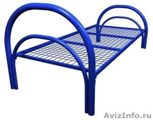 Кровати металлические двухъярусные для рабочих, кровати металлические опт. - Изображение #1, Объявление #1478881