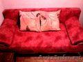Продажа дивана в хорошем состоянии,  б/у 1.5 года,  цвет малиновый