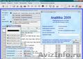 Analitika 2009 - Бесплатное ПО для контроля и анализа деятельности организации