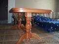 Столы ручной работы из массива дуба